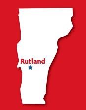 Rutland, VT map
